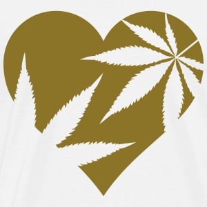cannabis love  Aprons - Men's Premium T-Shirt