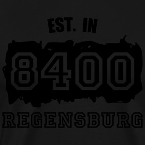 Established 8400 Regensburg Pullover & Hoodies - Männer Premium T-Shirt