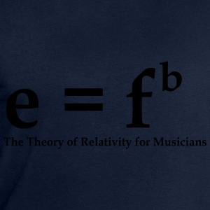 E=fb, theory of relativity for musicians T-shirts - Herresweatshirt fra Stanley og Stella