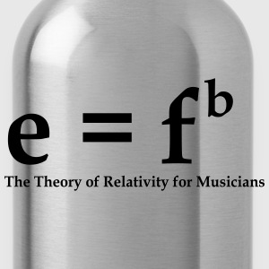 E=Fb. Theory of Relativity for Musicians - Drikkeflaske
