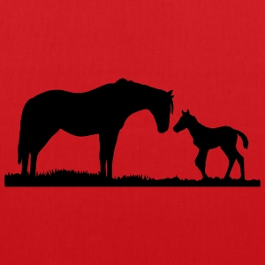 chevaux Tee shirts - Tote Bag