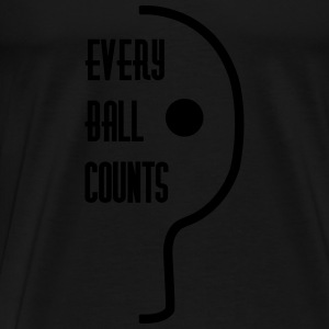 table tennis: every ball counts Tops - Männer Premium T-Shirt
