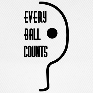 table tennis: every ball counts T-shirts - Baseballcap