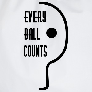 table tennis: every ball counts T-shirts - Gymtas