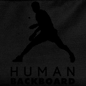 human blackboard Tank Tops - Kids' Backpack