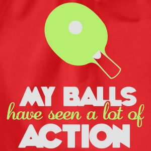 my balls have seen a lot of action T-shirts - Gymnastikpåse