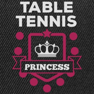 table tennis princess Tee shirts - Casquette snapback