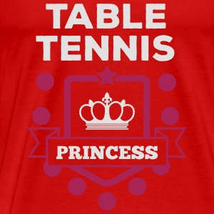 table tennis princess Tops - Men's Premium T-Shirt