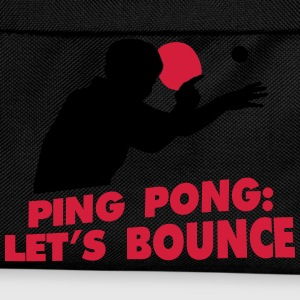 ping pong let's bounce T-Shirts - Kinder Rucksack