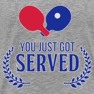 you just got served Tops - Mannen Premium T-shirt