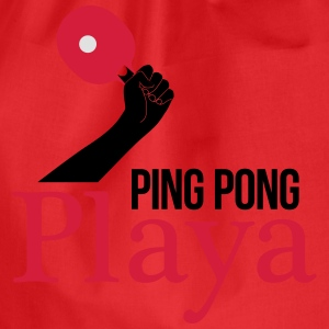 ping pong player Magliette - Sacca sportiva