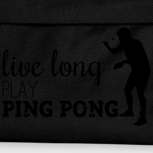 LIVE LONG PLAY PING PONG T-shirts - Rugzak voor kinderen