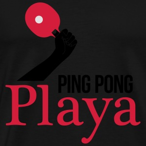 ping pong player Tank Tops - Camiseta premium hombre
