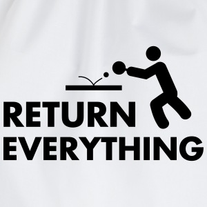 table tennis: return everything Tops - Gymtas
