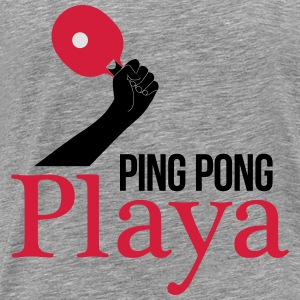 ping pong player Toppe - Herre premium T-shirt