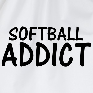 softball addict T-Shirts - Drawstring Bag