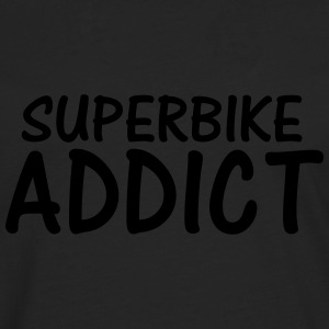 superbike addict T-Shirts - Men's Premium Longsleeve Shirt