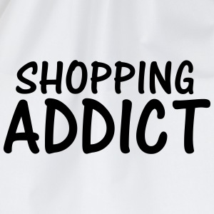 shopping addict T-Shirts - Drawstring Bag
