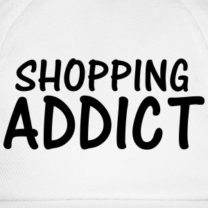 shopping addict T-Shirts - Baseball Cap