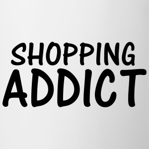 shopping addict T-Shirts - Mug