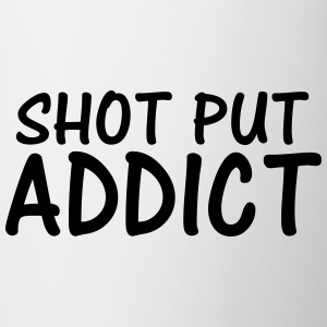 shot put addict T-Shirts - Mug