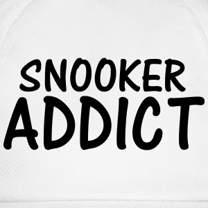 snooker addict T-Shirts - Baseball Cap