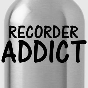 recorder addict T-Shirts - Water Bottle