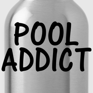 pool addict T-Shirts - Water Bottle