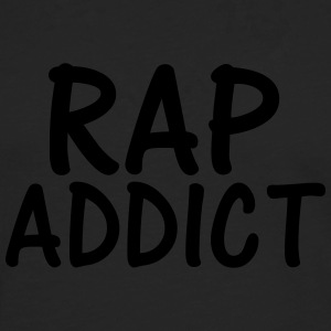 rap addict T-Shirts - Men's Premium Longsleeve Shirt