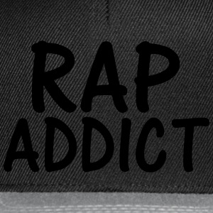 rap addict T-Shirts - Snapback Cap