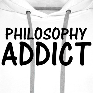philosophy addict T-Shirts - Men's Premium Hoodie