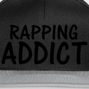 rapping addict T-Shirts - Snapback Cap