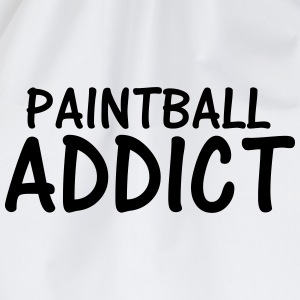 paintball addict T-Shirts - Drawstring Bag