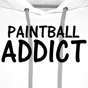 paintball addict T-Shirts - Men's Premium Hoodie