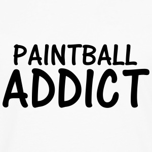paintball addict T-Shirts - Men's Premium Longsleeve Shirt