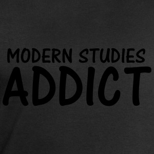 modern studies addict T-Shirts - Men's Sweatshirt by Stanley & Stella