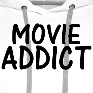 movie addict T-Shirts - Men's Premium Hoodie