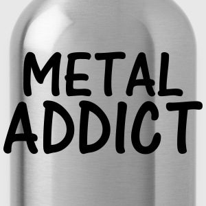 metal addict T-Shirts - Water Bottle