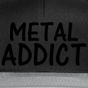 metal addict T-Shirts - Snapback Cap