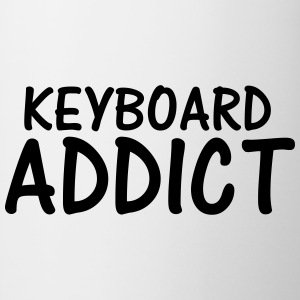 keyboard addict T-Shirts - Mug