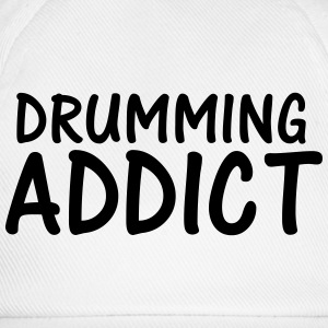 drumming addict T-Shirts - Baseball Cap
