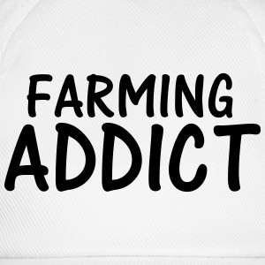 farming addict T-Shirts - Baseball Cap