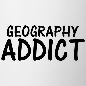 geography addict T-Shirts - Mug