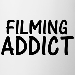 filming addict T-Shirts - Mug