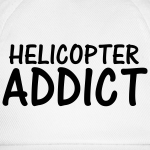 helicopter addict T-Shirts - Baseball Cap