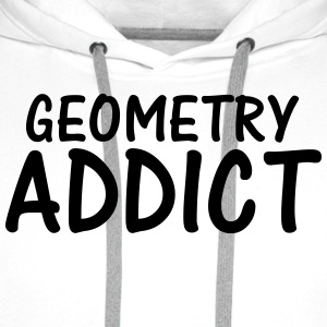 geometry addict T-Shirts - Men's Premium Hoodie