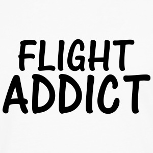 flight addict T-Shirts - Men's Premium Longsleeve Shirt