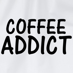 coffee addict T-Shirts - Drawstring Bag