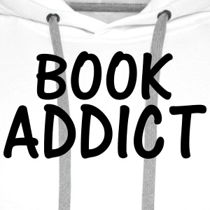 book addict T-Shirts - Men's Premium Hoodie
