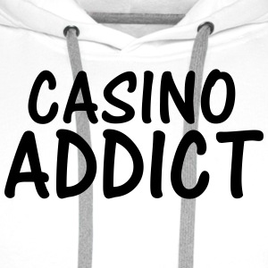 casino addict T-Shirts - Men's Premium Hoodie
